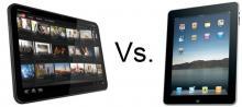 Xoom x iPad